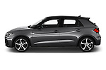 Car Driver side profile view of a 2019 Audi A1-Sportback S-Line 5 Door Hatchback Side View