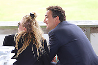 ***FILE PHOTO*** Mary-Kate Olsen Asks For Emergency Court Order To Divorce From Husband Pierre Olivier Sarkozy.<br /> <br /> BRIDGEHAMPTON, NY - SEPTEMBER 1: Mary Kate Olsen and Olivier Sarkozy at the 38th Annual Hampton Classic Horse Show - Grand Prix Sunday on September 1, 2013 in Bridgehampton, New York. <br /> CAP/MPI98<br /> ©MPI98/Capital Pictures