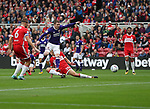 John Fleck of Sheffield Utd  strikes the ball towards goal during the Sky Bet Championship match at the Riverside Stadium, Middlesbrough. Picture date: August 12th 2017. Picture credit should read: Jamie Tyerman/Sportimage