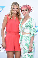 Betthanie Mattek Sands and Lucy Safarova at the Women's Tennis Association 's (WTA) Tennis on The Thames evening reception at OXO2, London, UK. <br /> 28 June  2018<br /> Picture: Steve Vas/Featureflash/SilverHub 0208 004 5359 sales@silverhubmedia.com