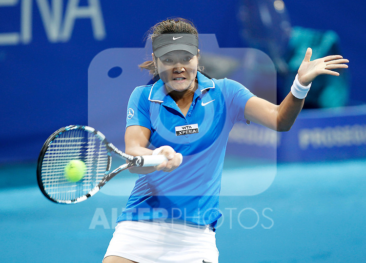 Na LI during Madrid Open Tennis 2012 Match.May, 7, 2012(ALTERPHOTOS/ALFAQUI/Acero)