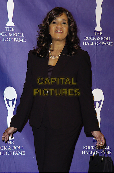 ESTELLE BENNETT.The 22nd annual Rock And Roll Hall Of Fame  induction ceremony at the Waldorf Astoria Hotel, New York, New York, USA..March 12th, 2007.half length black jacket .CAP/ADM/BL.©Bill Lyons/AdMedia/Capital Pictures *** Local Caption ***
