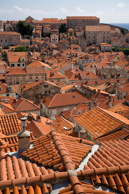 Croatia's 800 year old walled city of Dubrovnik