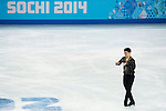 Han Yan of China compete in the Short Program Men during the 2014 Sochi Olympic Winter Games at Iceberg Skating Palace on February 6, 2014 in Sochi, Russia. Photo by Victor Fraile / Power Sport Images