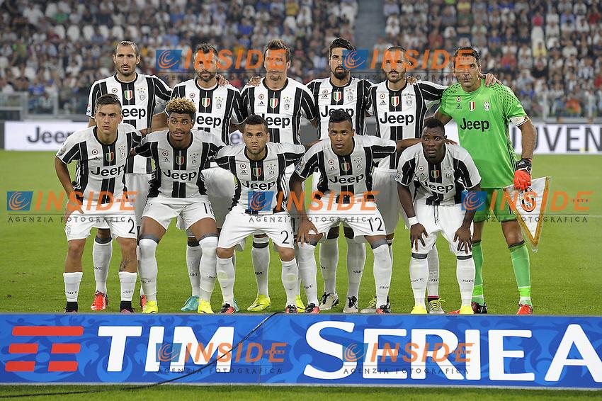 Foto squadra Juventus, team shot,<br /> Torino 20-08-2016, Juventus Stadium, Football Calcio 2016/2017 Serie A, Juventus - Fiorentina, Foto Filippo Alfero/Insidefoto