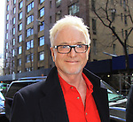 General Hospital's cast - Tony Geary taped Katie Couric's Talk Show on April 2, 2013 in New York City, New York. Fans came to the show and were outside the studio to greet the actors as they left. (Photo by Sue Coflin/Max Photos)
