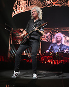 SUNRISE FL - AUGUST 17: Brian May of Queen + Adam Lambert performs at The BB&T Center on August 17, 2019 in Sunrise, Florida. Photo by Larry Marano © 2019