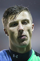 Stuart Moore of Luton Town after his debut for Luton Town in the Sky Bet League 2 match between Luton Town and Cheltenham Town at Kenilworth Road, Luton, England on 31 January 2017. Photo by David Horn / PRiME Media Images