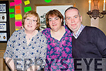 Sheila Morris, Suzanne Scully and Mike Woods at the Anthony Morris fundraising coffee morning in the Flesk restaurant on Friday