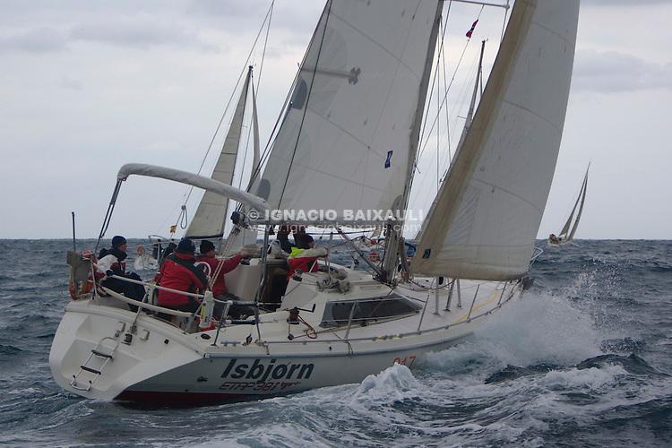 ISBJORN ESP 7856 ETAP 38i Juan B. Postigo CN Javea - XXI RUTA DE LA SAL - Versión Este - Denia-Ibiza - 2008 - Real Club Náutico de Denia