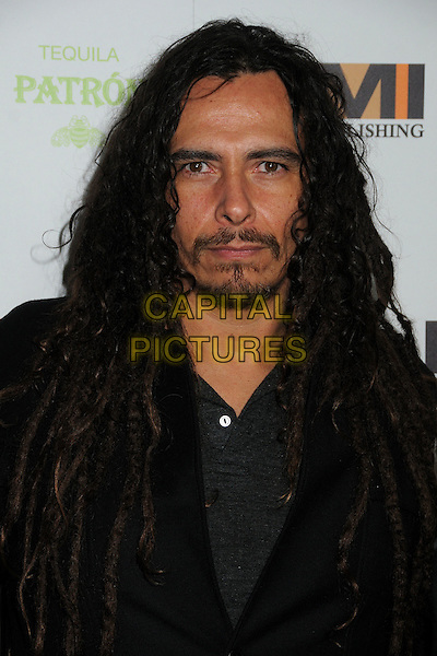 James Shaffer, Munky, Korn.EMI Music 2012 Grammy Awards Party held at Capital Records Tower, Hollywood, California, USA..February 12th, 2012.headshot portrait goatee facial hair dreadlocks black jacket  .CAP/ADM/BP.©Byron Purvis/AdMedia/Capital Pictures.