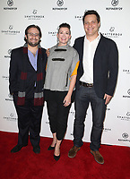 09 November 2017 - Los Angeles, California - David Shapiro, Amy Emmerich, Michael A. Pruss. Starlight Studios And Refinery29 &quot;Come Swim&quot; Los Angeles Premiere. <br /> CAP/ADM/FS<br /> &copy;FS/ADM/Capital Pictures