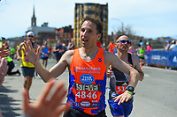 2017 Boston Marathon Dana Farber Mile 25