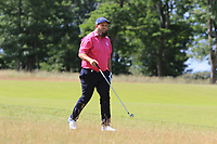 Andrew Johnston (ENG) on the 1st during Round 2 of the Aberdeen Standard Investments Scottish Open 2019 at The Renaissance Club, North Berwick, Scotland on Friday 12th July 2019.<br /> Picture:  Thos Caffrey / Golffile<br /> <br /> All photos usage must carry mandatory copyright credit (© Golffile | Thos Caffrey)