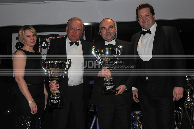 Kevin Riley/Gareth Downing - National Motorsport - GT Cup Championship Awards And Dinner Brands Hatch 2018