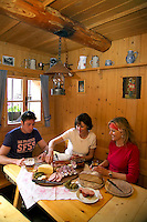 Lungau, Salzburgerland, Austria, May 2006. Trekking the alms means lots of good mountain life, wallking and good food. Photo by Frits Meyst/Adventure4ever.com
