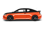 Car Driver side profile view of a 2015 Scion tC Release Series 9.0 2 Door Coupe Side View