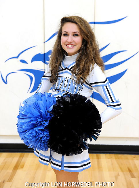 Skyline High School pompon team - winter 2014-15.
