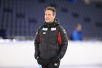 SCHAATSEN: HEERENVEEN: IJsstadion Thialf, 06-12-2016, ISU World Cup-training, Jan van Veen, ©foto Martin de Jong