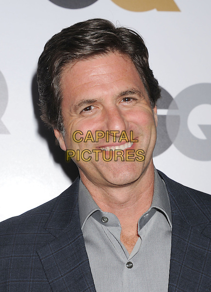 Steve Levitan.Arriving at the GQ Men Of The Year Party at Chateau Marmont Hotel in Los Angeles, California, USA..November 13th, 2012.headshot portrait grey gray  shirt  .CAP/ROT/TM.©Tony Michaels/Roth Stock/Capital Pictures