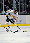 7 February 2009: University of Vermont Catamount forward Brian Roloff, a Junior from West Seneca, NY, in action against the Providence College Friars during the second game of a weekend series at Gutterson Fieldhouse in Burlington, Vermont. The Catamounts swept the 2-game series notching 4-1 wins in both games. Mandatory Photo Credit: Ed Wolfstein Photo