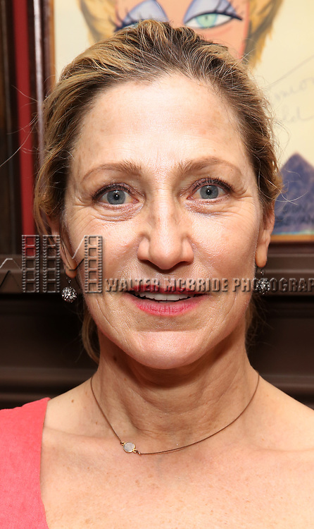 Edie Falco attends the The Robert Whitehead Award presented to Mike Isaacson at Sardi's on May 10, 2017 in New York City.