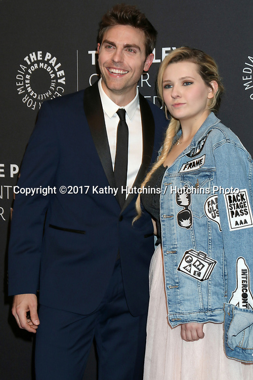 """LOS ANGELES - MAY 18:  Colt Prattes, Abigail Breslin at the 2017 PaleyLive LA - """"Dirty Dancing: The New ABC Musical Event"""" Premiere Screening And Conversation at the Paley Center for Media on May 18, 2017 in Beverly Hills, CA"""