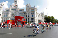 09/09/2012 Madrid Spain, Stage 21 Alberto Contador proclaimed official winner of the Tour of Spain. to the last stage John Degenkolb won the fifth stage triumph Argos team rider. The photo shows