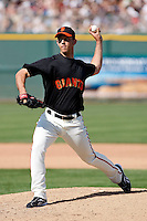 Madison Bumgarner - San Francisco Giants - 2009 spring training.Photo by:  Bill Mitchell/Four Seam Images