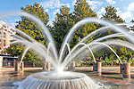 Fountain in Waterfront Park in Charleston, South Carolina, USA