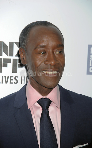 Don Cheadle attends the 53rd New York Film Festival - closing night gala presentation and premiere of 'Miles Ahead' at Alice Tully Hall  on October 10, 2015 in New York. Credit: Dennis Van Tine/MediaPunch