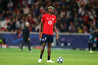 Victor Osimhen of Lille OSC before Lille OSC vs Chelsea, UEFA Champions League Football at Stade Pierre-Mauroy on 2nd October 2019