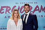 "Vikika Costa and Javier Menendez attends to ""El Corazon De Sergio Ramos"" premiere at Reina Sofia Museum in Madrid, Spain. September 10, 2019. (ALTERPHOTOS/A. Perez Meca)"