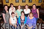 Duagh ladies enjoying a girls night out last Friday in Leen's Hotel, Abbeyfeale. F l-r: Ruth O'Keeffe, Gillian Dowling, Rosie Collins. B L-r: Emma Batten, Denise Galvin, Doreen Buckley, Katie Flynn and Mandy Bambury.