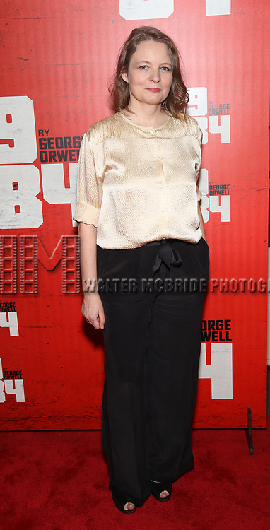 Cara Seymour attends the Broadway Opening Night Party for George Orwell's '1984' at The Lighthouse Pier 61 on June 22, 2017 in New York City.