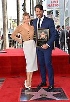 LOS ANGELES, CA. October 24, 2019: Renee Zellweger & Harry Connick Jr. at the Hollywood Walk of Fame Star Ceremony honoring Harry Connick Jr.<br /> Pictures: Paul Smith/Featureflash