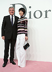Sydney Toledano and Kaho, Jun 16, 2015 : Tokyo, Japan - Christian Dior CEO Sydney Toledano (L) and actress Kaho (R) attend a photocall for the Christian Dior 2015-16 Ready to Wear collection in Tokyo, Japan. (Photo by AFLO)