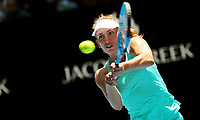 MELBOURNE,AUSTRALIA,23.JAN.18 - TENNIS - WTA Tour, Grand Slam, Australian Open. Image shows Elise Mertens (BEL). Photo: GEPA pictures/ Matthias Hauer / Copyright : explorer-media