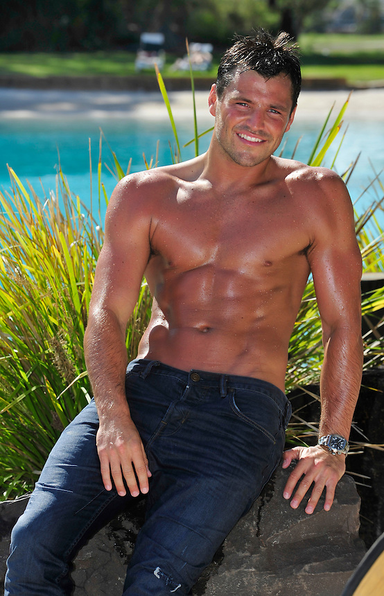 Mark Wright from ITV The only way is Essex<br /> <br /> I'm a celebrity Get Me out of here 2011<br /> Sanctuary Cove Hyatt Regency.<br /> Pic Jayne Russell <br /> 10th November 2011<br /> &copy; Jayne Russell