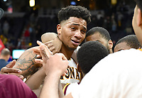 Iona defeats Siena 87-86 in overtime in the championship game of the MAAC tournament on March 06, 2017 at the Times Union Center in Albany, New York.  (Bob Mayberger/Eclipse Sportswire)