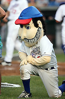 June 26th 2008:  The mascot of the Auburn Doubledays, Class-A affiliate of the Toronto Blue Jays, during a game at Falcon Park in Auburn, NY.  Photo by:  Mike Janes/Four Seam Images