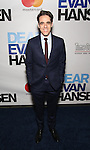 Steven Levenson attends the Broadway Opening Night Performance of 'Dear Evan Hansen'  at The Music Box Theatre on December 4, 2016 in New York City.