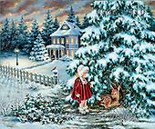 Dona Gelsinger, CHRISTMAS CHILDREN, paintings(USGE9410,#XK#)