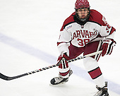 Thomas Aiken (Harvard - 38) - The Harvard University Crimson defeated the visiting Princeton University Tigers 5-0 on Harvard's senior night on Saturday, February 28, 2015, at Bright-Landry Hockey Center in Boston, Massachusetts.