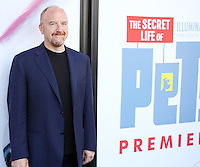 NEW YORK, NY-June 25: Louis C.K. at Universal Pictures & Illumination Entertainment present the premiere of The Secret Life of Pets  at the  David H. Koch Theartre Lincoln Center in New York. NY June 25, 2016. Credit:RW/MediaPunch