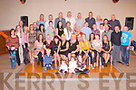FAMILY REUNION: Descendants of Nora and Patrick Kerins, Cordal, Castleisland enjoying a great time the Kerins family reunion at the Carlton hotel, Tralee on Saturday...