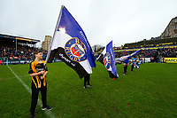 A general view of the Bath Rugby guard of honour. Gallagher Premiership match, between Bath Rugby and Sale Sharks on December 2, 2018 at the Recreation Ground in Bath, England. Photo by: Patrick Khachfe / Onside Images