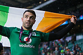 17th March 2018, Twickenham, London, England; NatWest Six Nations rugby, England versus Ireland; Conor Murray of Ireland celebrates winning the Grand Slam and Six Nations Champsionship