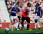 Jack O'Connell of Sheffield Utd during the Championship match at the Stadium of Light, Sunderland. Picture date 9th September 2017. Picture credit should read: Simon Bellis/Sportimage