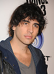 """LOS ANGELES, CA - OCTOBER 04: Nick Simmons arrives at the launch of """"Just Dance 3"""" at The Beverly on October 4, 2011 in Los Angeles, California."""